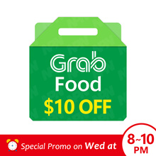 SPECIAL PROMO PRICE GrabFood $10 Promo Code 🍴 [Click Link In Email to Redeem]