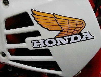 HONDA LOGO Honda Wings A Retro Reflective Stickers Decals On Price