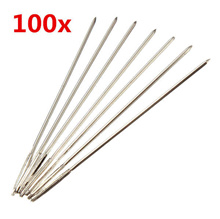 100pcs Silver Embroidery Needles for 11CT Cross-stitch