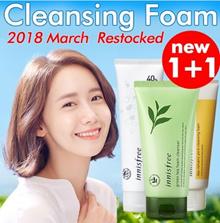 [1+1] ★★2018 March New Greentea Cleansing Foam★★Qoo10 Lowest Price Sale★★