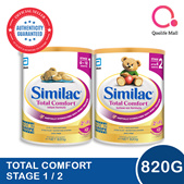 [Abbott]【New!】Similac Total Comfort 820g   Stage 1 and 2
