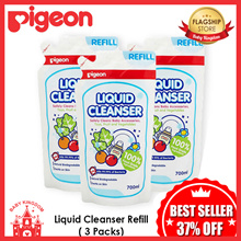 Pigeon Liquid Cleanser Refill x 3 Packs BUNDLE DEAL!!