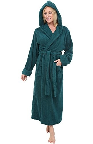 Qoo10 - Alexander Del Rossa Womens Turkish Terry Cloth Robe 1eed934a7