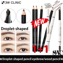 Only 1-day Super Sale!!★1+1★3W CLINIC★Droplet-shaped Eyebrowpencil  /  Auto Eyebrow Pencil *5 Color