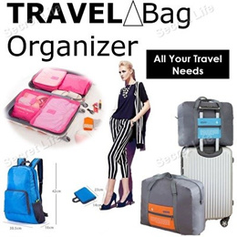 Travel Bag Organizer (Clearance Sales Now)/All your travel needs/Travel Essentials Necessities