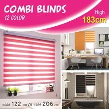 [Home Blind] Combi Blinds / Korea Import / 12 color / Custom Made / High 183cm / Width 122cm to 206c