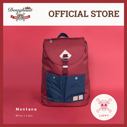 c515ccf004df  License Special Edition  Doughnut x One Piece Backpack - MONTANA LUFFY  WINE X LAKE