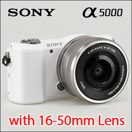 Sony Alpha Mirrorless A5000 with 16-50mm Lens Digital Camera /3 COLOR