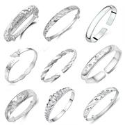 Flat shipping【46 TYPES】 NEW UPDATED 14/7 B24 Onward ~ 925 Silver Stylish Adjustable Bangle