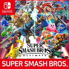 [Nintendo Switch] Super Smash Bros Ultimate Limited Edition ★ Ready Stock