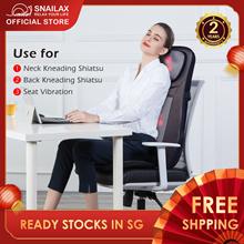 Snailax 233 Shiatsu Kneading Rolling Rotating Vibrating Spot Massage Massager for Neck Back Lumbar
