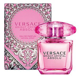 PERFUME VERSACE BRIGHT CRYSTAL ABSOLU WOMEN 90ML EDP SPRAY FRAGRANCE