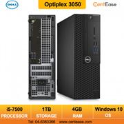 Dell Optiplex 3050 Commercial Small Form Factor Desktop PC- Intel Core i5/ Windows 10 Pro