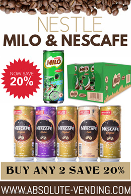 NESTLE MILO / NESCAFE ASSORTED CARTON. 40% OFF RETAIL PRICE - FREE DELIVERY WITHIN 3 WORKING DAYS!