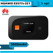 Huawei E5577 E5577s321 (Orange) 4G 3000mAH 10 Hr MIFI Portable Hotspot modem