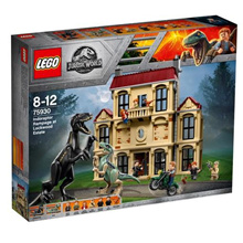 LEGO 75930 Jurassic World: Indoraptor Rampage at Lockwood Estate