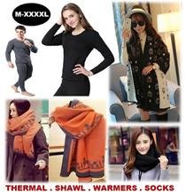 [ORTE] Sale★High Quality Shawl★Kids Thermal Wear★Wool Winter Socks★Gloves★Neck Warmers★Scarf★