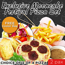 Exclusive Moon Cake Festival Pizza Set