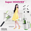 BOLDE SUPER HOOVER SERIES VACUM  / GERMAN ECO TEKNOLOGI WITH HEPA FILTER