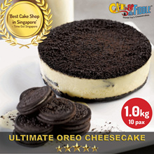 OREO® Cookies and Cream Cheesecake by Cat and the Fiddle from Celebrity Chef Daniel Tay!