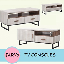 JARVY SERIES TV Consoles with drawers *Four Models*
