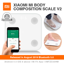 Xiaomi AUGUST 2019 Latest Version Mi Body Composition Scale 2 – Weighing Fat V2 Bluetooth 5.0