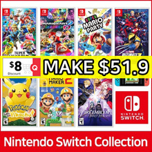 Nintendo Switch Game BEST 30 GAMES Collection ★ SUPER SMASH / POKEMON / SUPER MARIO / ZELDA / YOSHIS