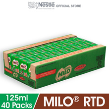 NESTLE MILO Activ-Go Chocolate Malt RTD 40 x 125ml
