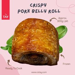[CS TAY] Crispy Pork Belly Roll 300g (+/-50g)
