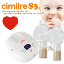 [Cimilre S3]  Electric breast pump Machine / Double Breastpumps / BPA Free /  Lownoise