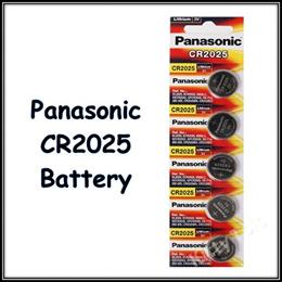 ◆ SG Seller ★ 5pcs Panasonic Battery CR2025 CR2032 CR2016 LR41 AG3 LR44 AG13 LR54 LR1130 AG10 LR66
