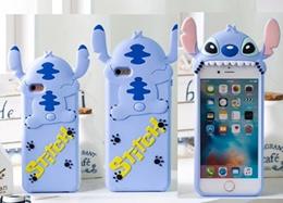 Cartoon Stitch silicone shell Samsung Galaxy NOTE5/NOTE3