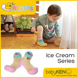 Attipas Toddler Shoes Ice Cream Series (1 design)