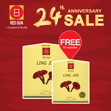 ⭐️ ANNIV SALE ⭐️ REDSUN LING ZHI | 150 + FREE 60 capsules | Made in Japan |