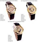 jam tangan wanita kulit croco rovite fullset