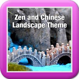 ◤Zen and Chinese Landscape Theme◥ DIY Terrarium ♡ Japanese ♡ Meditate ♡ Novice ♡ Rock ♡ Monk