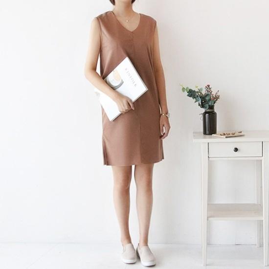 ピグメントモダンブイワンピースA17083101 面ワンピース/ 韓国ファッション