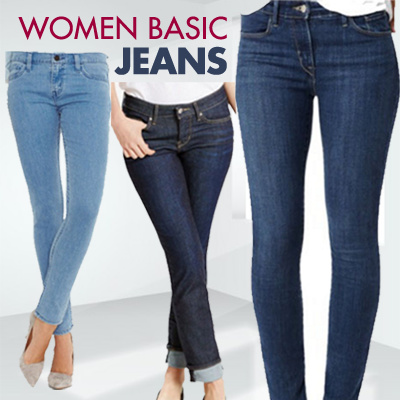 JEANS WOMAN GOOD QUALITY Celana Jeans Wanita Basic / Woman Basic Jeans / Celana Jeans Wanita Stretch Deals for only Rp109.000 instead of Rp109.000