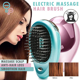 💆 [PROMO] Portable Electric Ionic Hairbrush Ion Hair Massage Brush Comb | FIRST 100 UNITS ONLY!