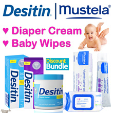 Bundle Deal + FAST Delivery! ★DESITIN | MUSTELA★ Baby Diaper Rash | Change Cream | Baby Wipes.