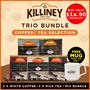 (Killiney) Bundle of 3 - Premium Coffee   Tea Selection Instant Coffee Kopi Drink BEST SELLER