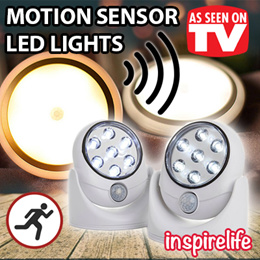 Motion Activated Cordless LED Night Light / Light Angel / Auto Sensor / 360degree adjustable