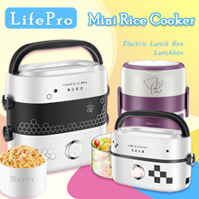 LifePro Bear Lunch Box Mini Rice Cooker Pressure Cooker Lunch Bag Electric Lunch Box Lunchbox