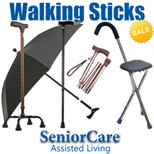 Reinforced Light Weight Stainless Steel Foldable Adjustable Height Collapsible Seat Walking Sticks
