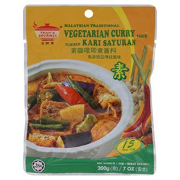 Tean s Gourmet Vegetarian Curry Paste 200g [Halal Certification]