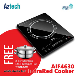 [Aztech] AIF4630 / InfraRed Cooker / 2000W / local warranty