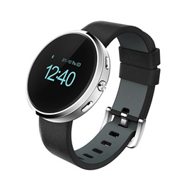 Bluetooth Smart Watch D360II Round Wristwatch Sync Pedometer Sleep Music Player Smartwatch for iPhone Androd Smart Phone