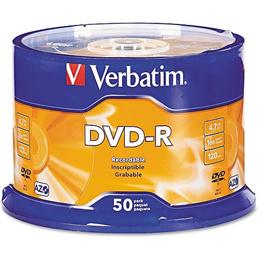 DVD-R / DVD+R Verbatim (50pcs)