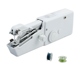 Handheld Mini Sewing Machine Cordless Electric Sewing Cloth Fabric Repair Singer