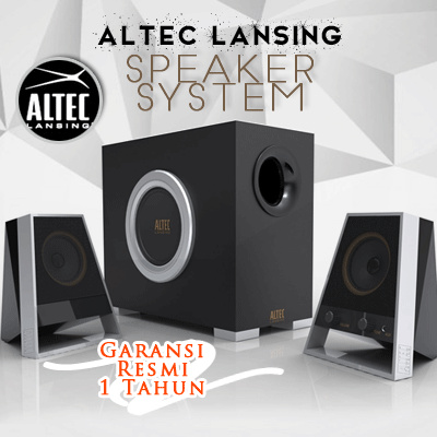 Altec Lansing Vs2621 2.1 Channel Speaker System Deals for only Rp685.000 instead of Rp685.000